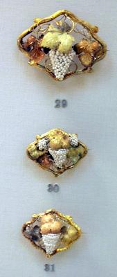 Seed Pearl Grapes British Museum