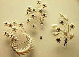 Seed Pearl Pins British Museum