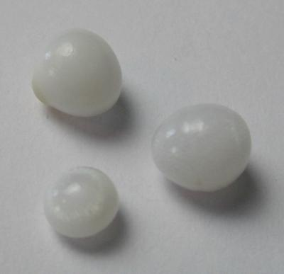 Set of 3 Clam Pearls 4+ carats for Sale
