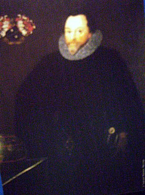 Sir Francis Drake Wearing Jewel