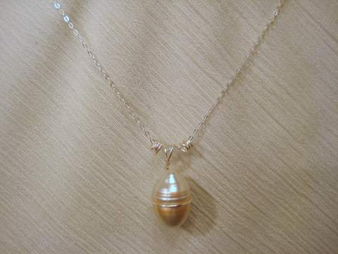 South Sea Pearl Jewelry Quot Silver Bullet Quot