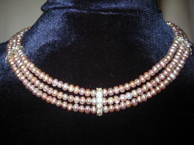 Sparkling Lavender Pearls