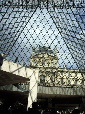 Through the Louvre Pyramid