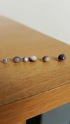 Blue Mussel Pearls - Sample Colors and Sizes