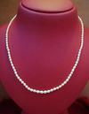 Natura Arabian Gulf Pearl Necklace Strand 32 carats