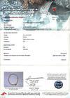 Certificate - Natura Arabian Gulf Pearl Necklace Strand 32 carats