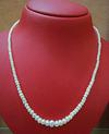 Natural Arabian Gulf Pearl Necklace Strand 49 carats