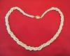 Natural Arabian Gulf Twisted Pearl Necklace 171 carats