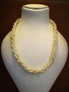 Natural Baroque Pearls Twisted in a Graduated Necklace