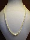 Natural Basra Pearl Necklace 2-5mm 16 Inches Long