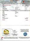 Certificate Natural Basra Pearl Pendant 2.21ct with Diamonds