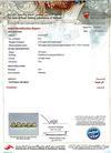 Certificate - Natural Basra Pearl Pendant with Diamonds