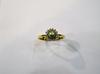Natural Basra Pearl Ring With Diamonds 18k Gold