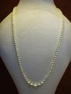 Natural Oval Basra Pearls Necklace 27 carats 4-6mm