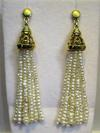Natural Pearls Tassel Style Earring