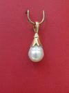 Natural Persian Gulf Pearl Pendant - Basra Pearl