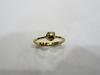 Natural Round Natural Basra Pearl Ring