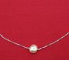Persian Gulf Natural Pearl Necklace on 18K Gold
