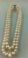 Rare Antique Natural Basra Pearl Necklace