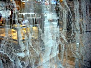 Tiffany Ginza Window Gauze
