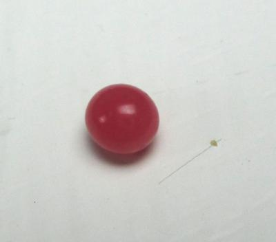 Tiny Round Conch Pearl Dark Pink 3mm