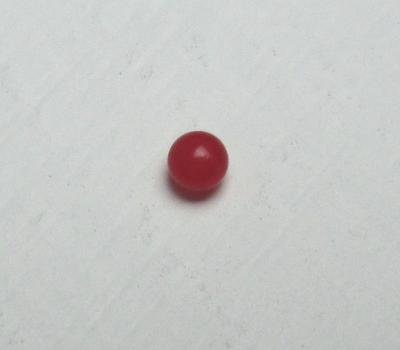 Tiny Round Red Conch Pearl 1mm