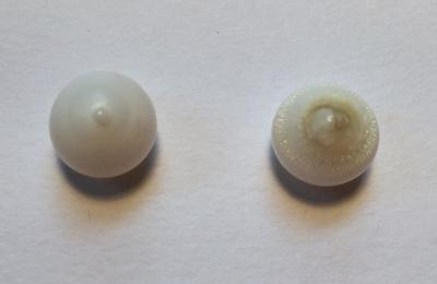 Two Drop Shaped Clam Pearls 12.70 carats Total