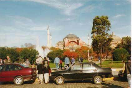 View of Hagia Sophia Istanbul