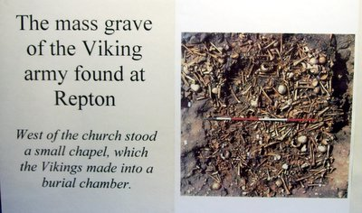 Norsemen army mass grave in England