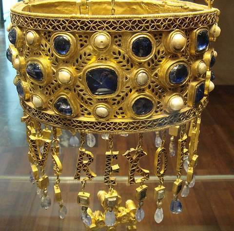 Votive Crown of Visigoth King Reccesuinth