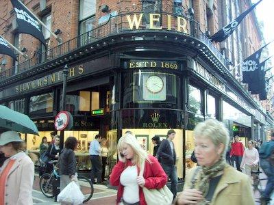 Weir Sons Dublin Store