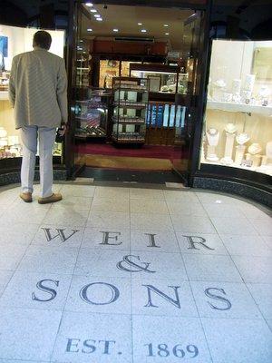 Weir Sons Dublin