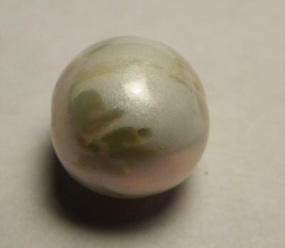 11.45 carat Roundish Natural USA Freshwater Pearl