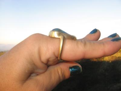 Large Abalone Pearl Ring