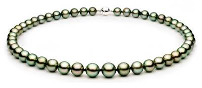 8-11mm Round Tahitian Pearls