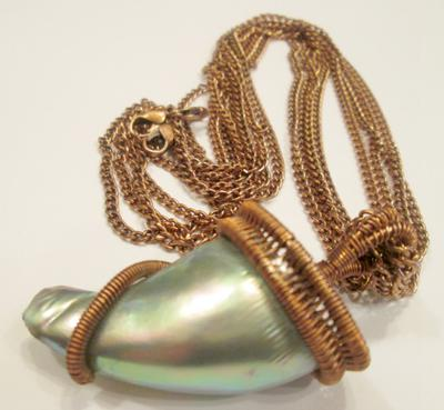 Abalone Pearl Necklace