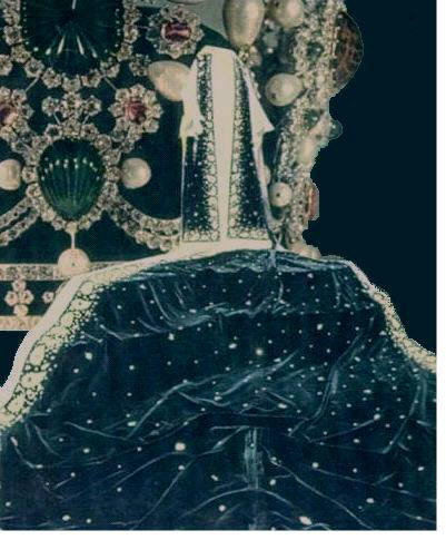 Coronation Cape of Empress Iran