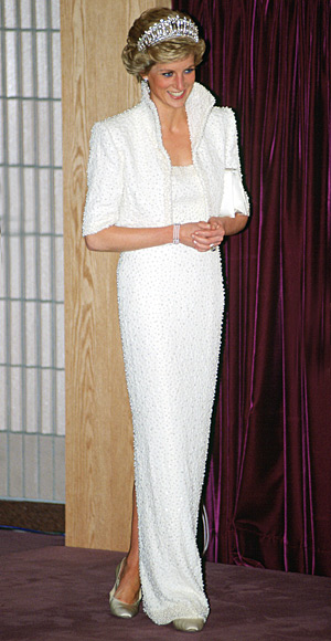 Princess Diana in Elvis Dress