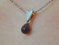 Natural Black Pearl Pendant