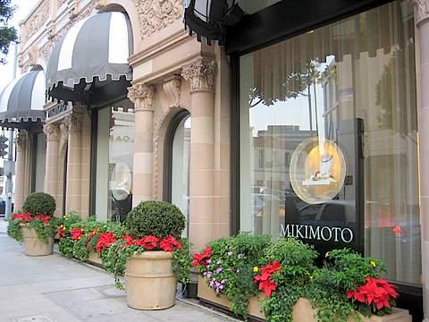 Mikimoto Store in LA