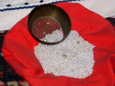 Sieve & Pearls <I>Photo by Kari</I>