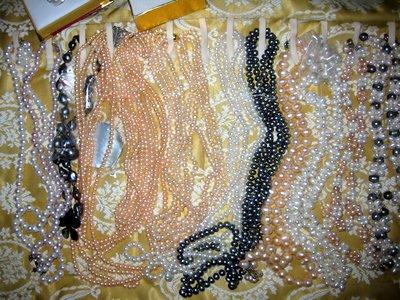Bartering pearls