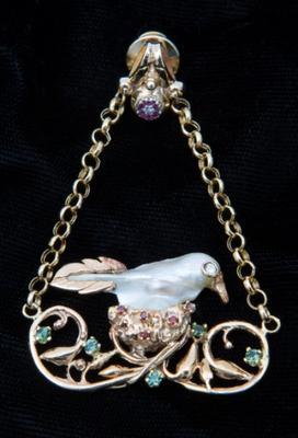 Bird Pearl Jewel by Stone Ridge Jewelers Inc.