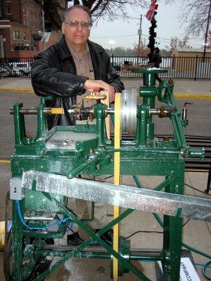 Button Machine David Metz