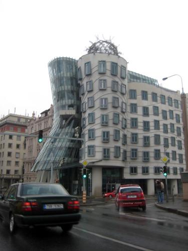 Dancing House Prague Frank Gehry