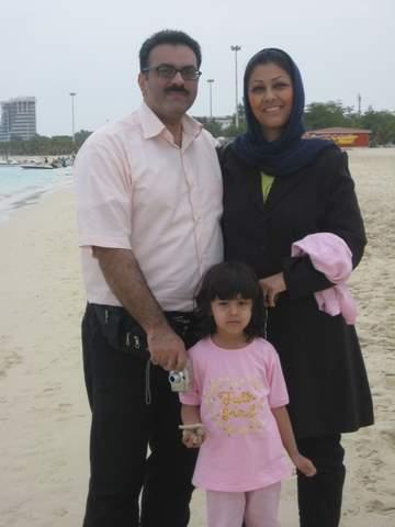Family on Kish Island