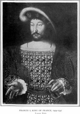 Francis 1 king of france 1494-1547