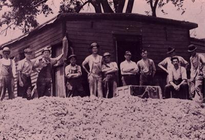 Grandpa Emil Biluf Muscatine Button Worker