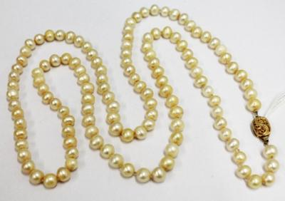 High Priced Natural Pearl Necklace