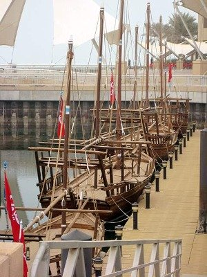 Kuwaiti Pearling Dhows (photo: Kari)